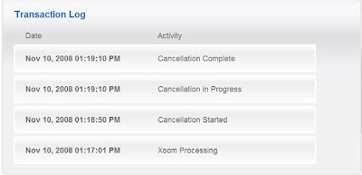 Random WAHM Thoughts: Transaction Cancelled By Xoom