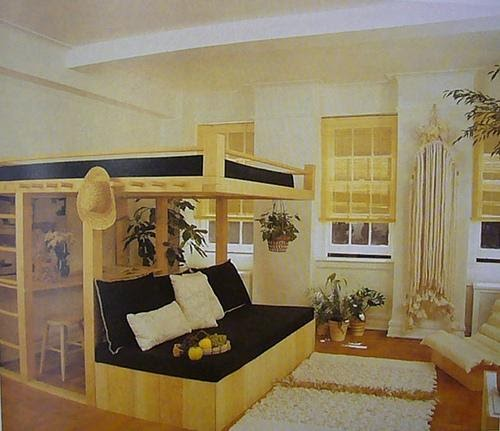 Bed Decorating Ideas,Bed Decoration: Loft Bed