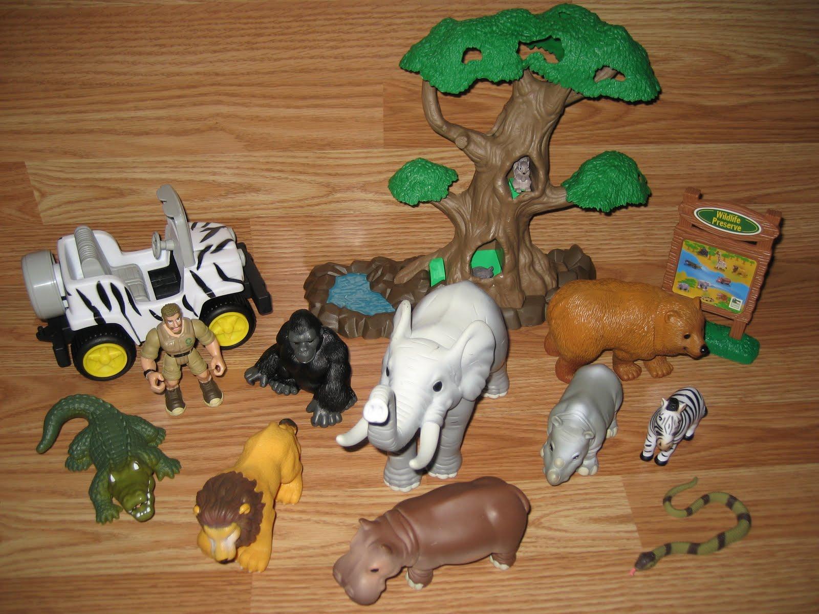 Animal Planet Africa Playset