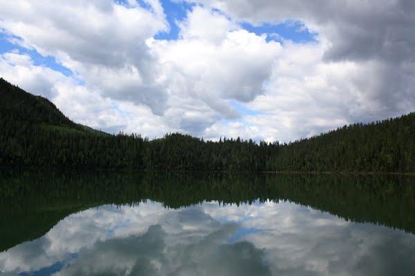 les rocheuses canadiennes lac
