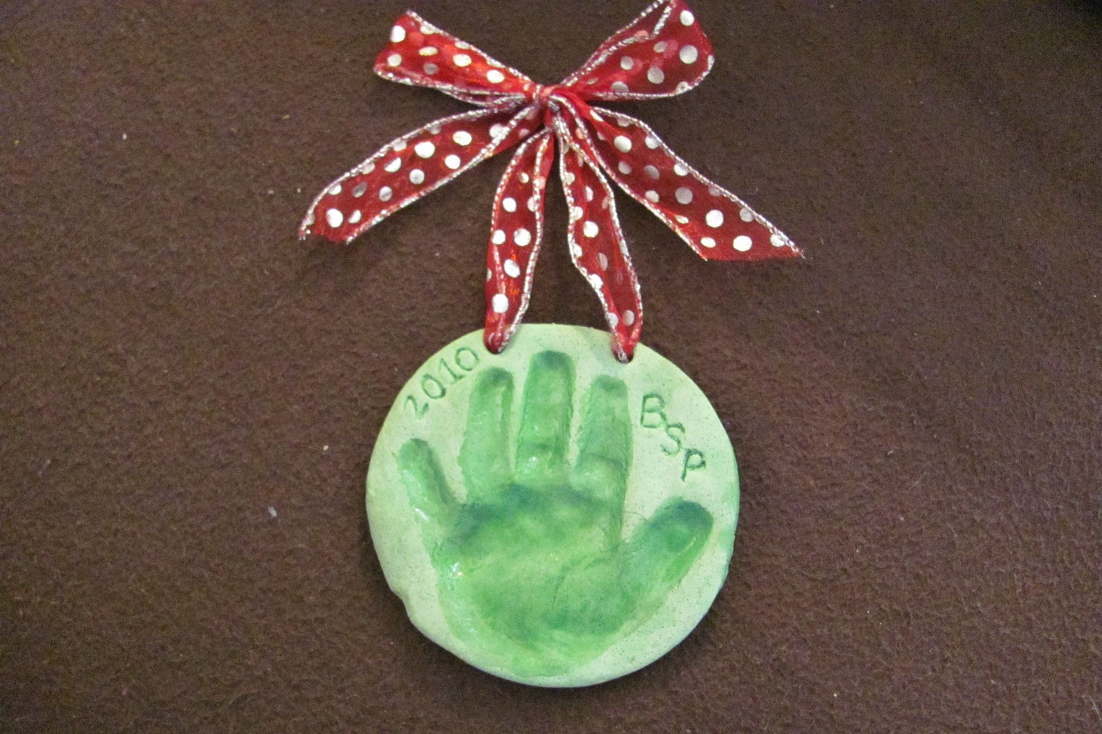 Getting Personal with the Pearsons.....: Hand Print ...
