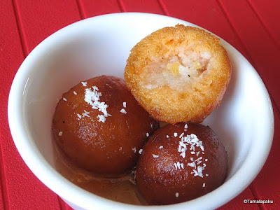 Sweet Potato Gulab Jamun