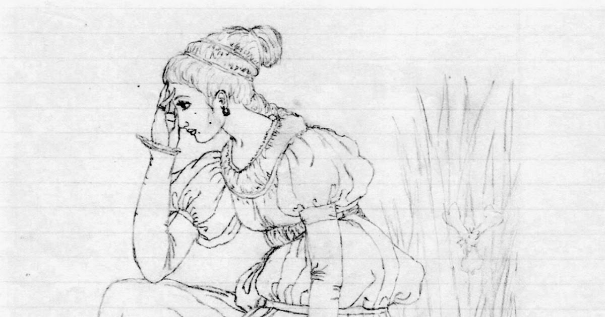 Sketch Art by Mary: Medieval Maidens