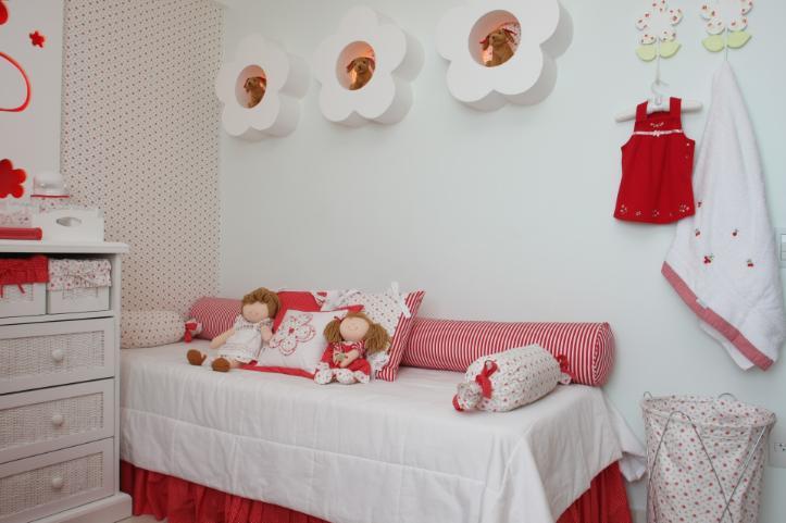 Decoraci n de dormitorios como decorar un dormitorio para - Decoracion para habitacion de bebe nina ...