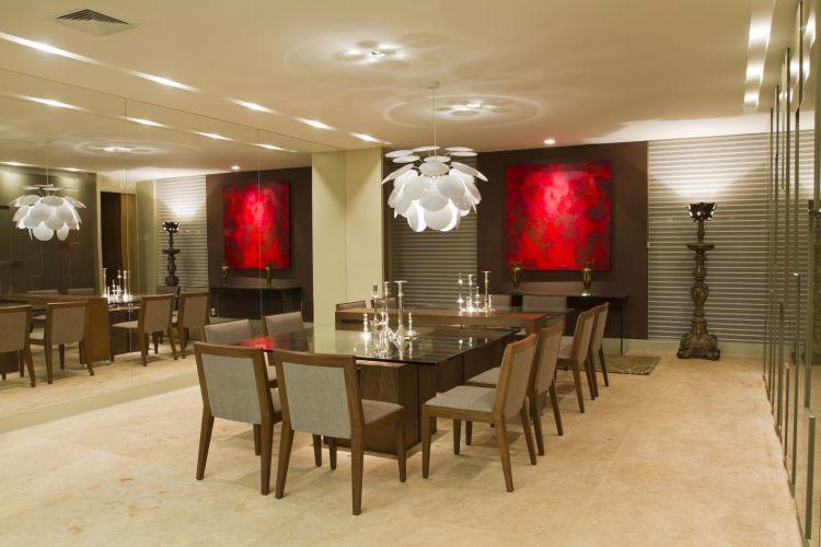 Interior sweet design decoracion de comedores modernos - Sala comedor modernos ...