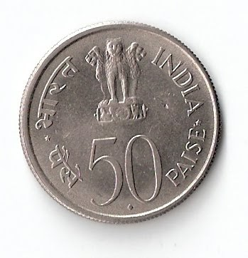 Jm Currencywala Jawaharlal Nehru 50 Paise Coin