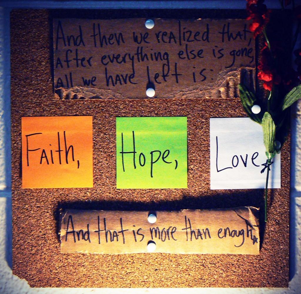 Faith hope and love - Faith love hope pictures ...