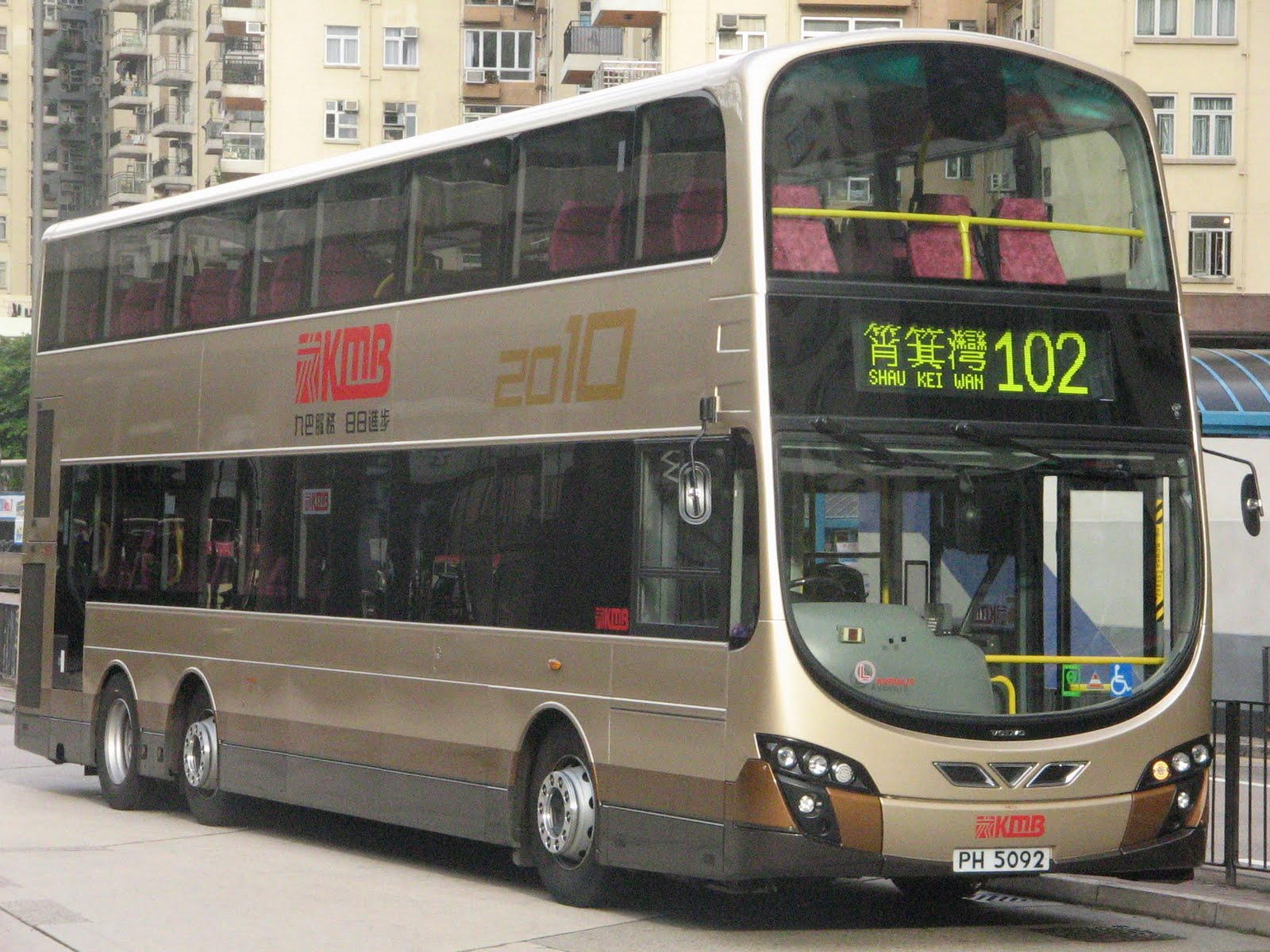 Hong Kong Bus Focus: 鬥車之王102