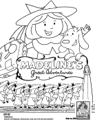 free madeline coloring pages - photo#18