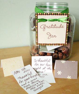 Gratitude jar helps families focus on gratitude regularly