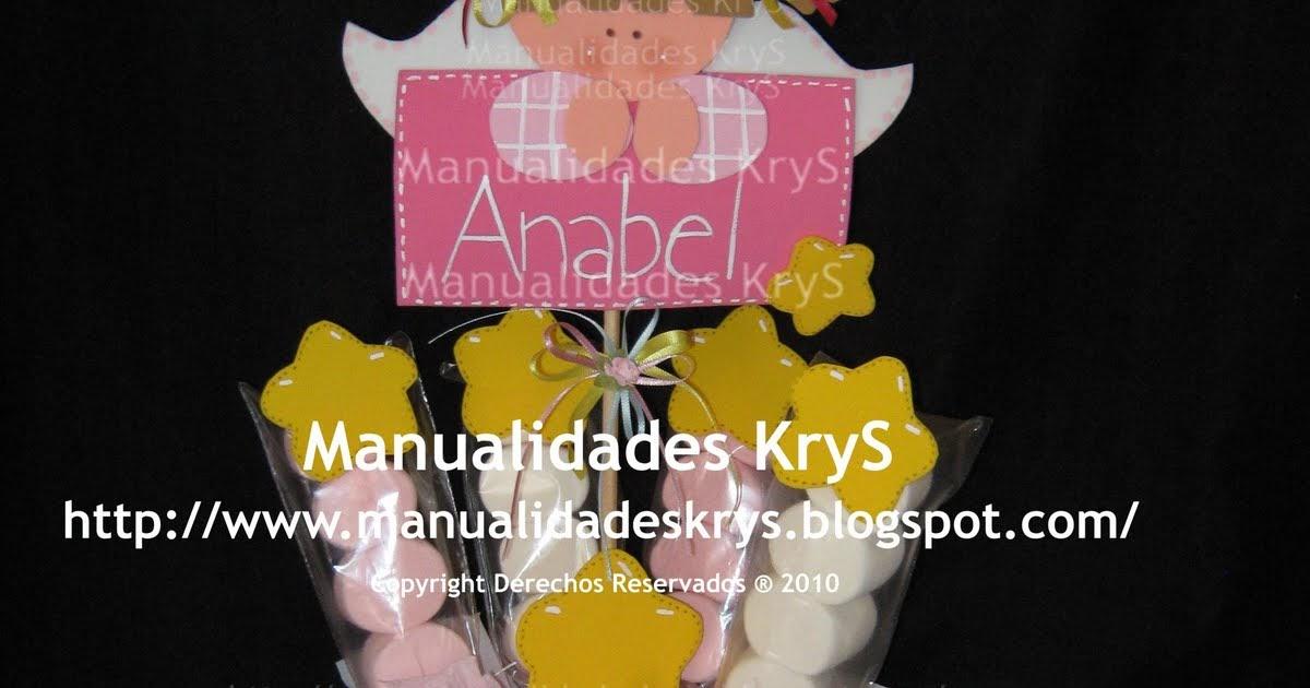 a2788a521 Manualidades KryS  PReSeNTaCión De TReS AñoS!!!
