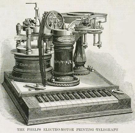 first telegraph machine - photo #15
