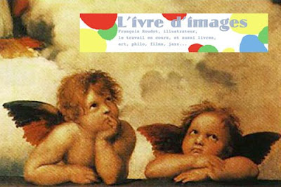 L'ivre d'images sur son nuage Little Angels Raffaello Santi