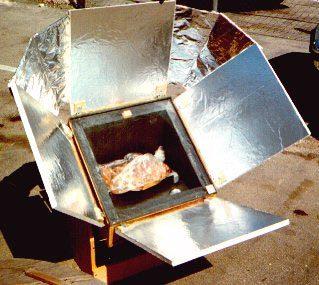El Poder De La Naturaleza Horno Solar Casero De Concentracion Y