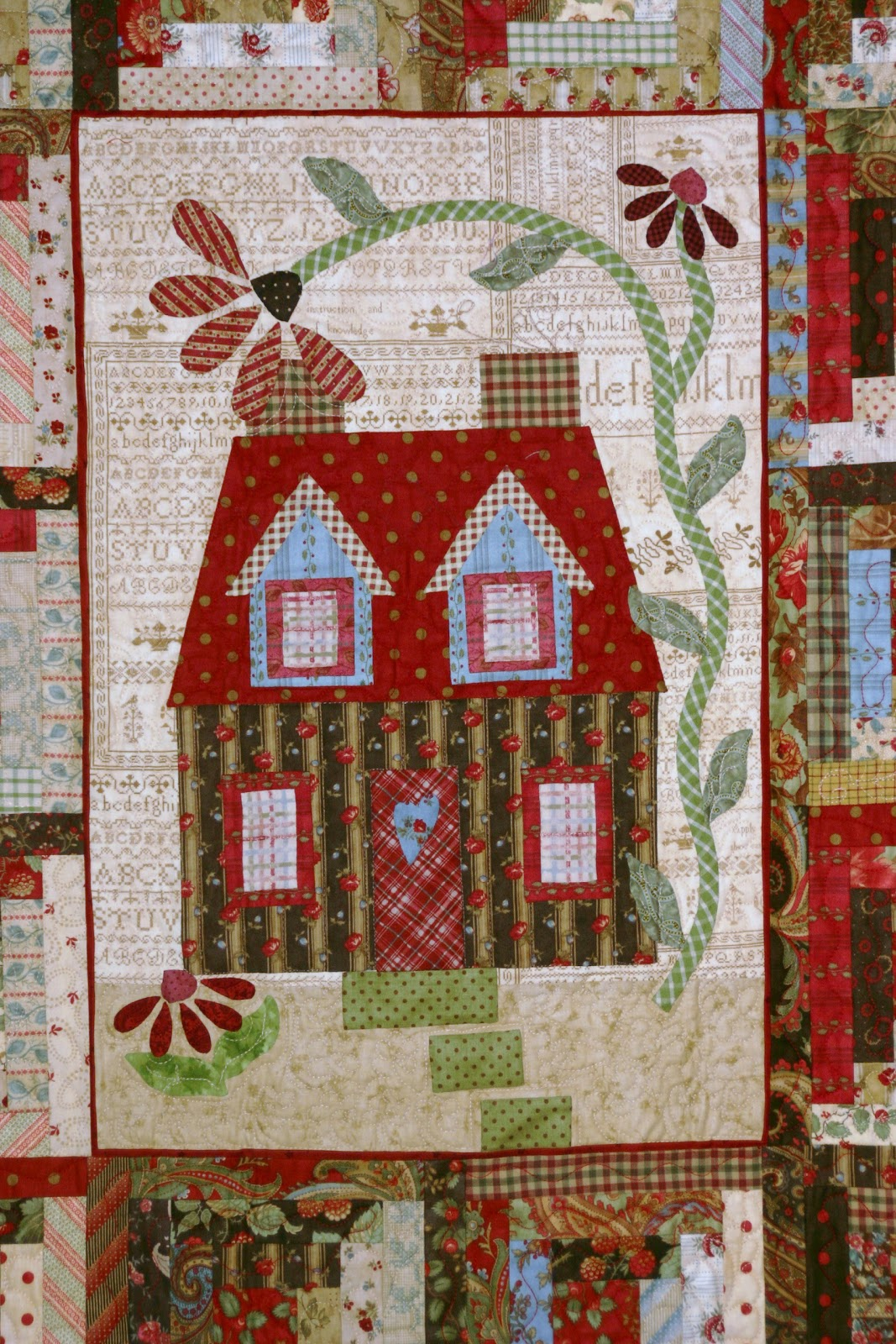 Sew N Wild Oaks Quilting Blog Chelsea Cottage Class Is In