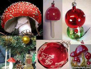 Santa Claus the Magic Mushroom Santa1103xo