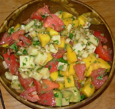 From Kirsten's Kitchen to Yours: Tomato, Mango and Jicama ...