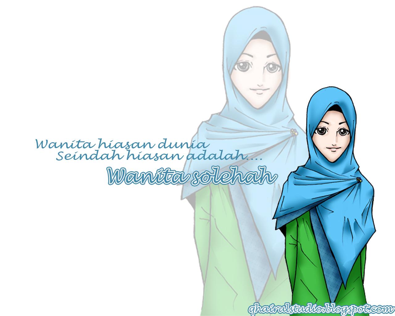 Wallpaper Wanita Soleha