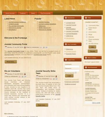 3 column joomla business template