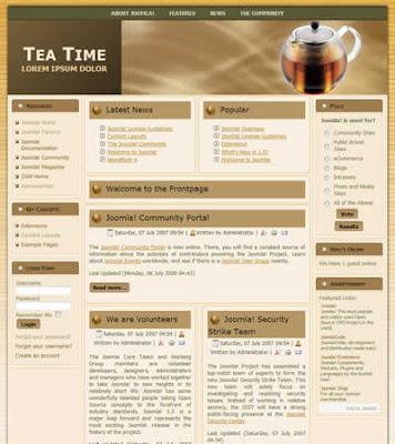3 column business joomla template
