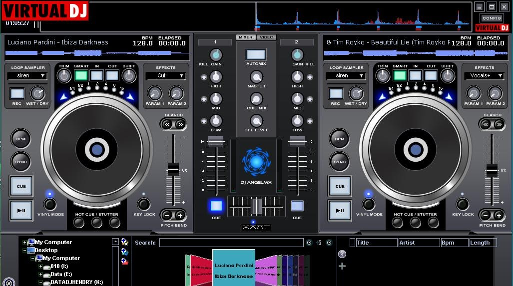 Skin virtual dj DN-S3500 Suggestion ~ DJhendryshare