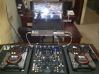 Cdj 400 plus djm 400 mixer