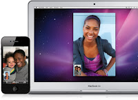 FaceTime Video Call: Mac-iPhone 4-iPod Touch 4G (in-between)