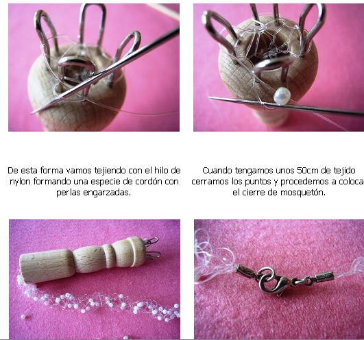 tricotin, carrete, telar, tejedor, tejer, manualidades