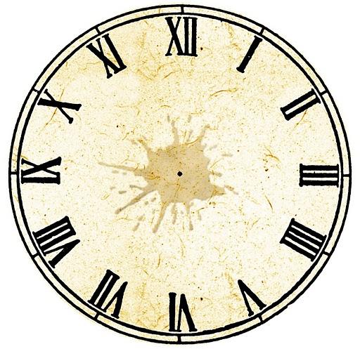 Enrhedando manualidades - Relojes para decorar paredes ...