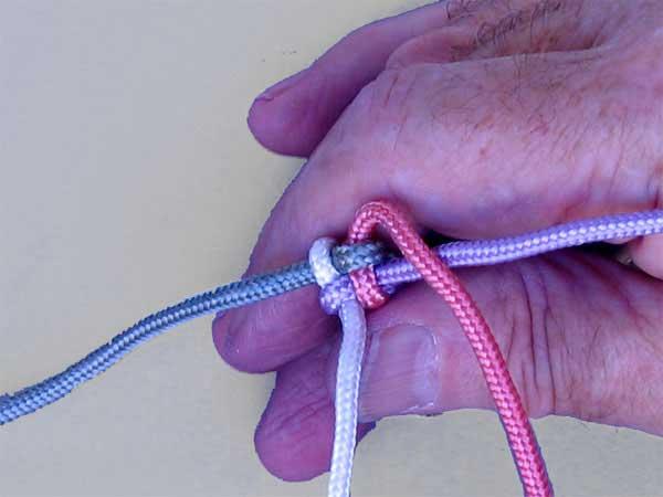 Como hacer pulseras de nudos enrhedando - Nudos marineros para pulseras ...