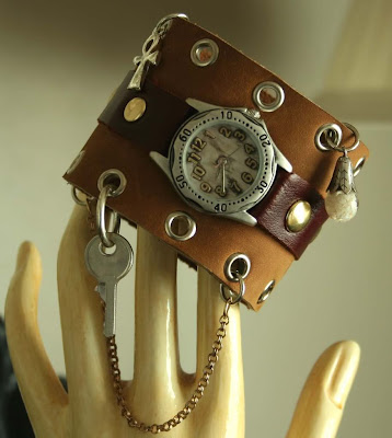 reloj, muñequera, bisutería, brazaletes, manualidades