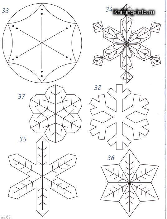 Enrhedando manualidades - Plantilla estrella navidad ...