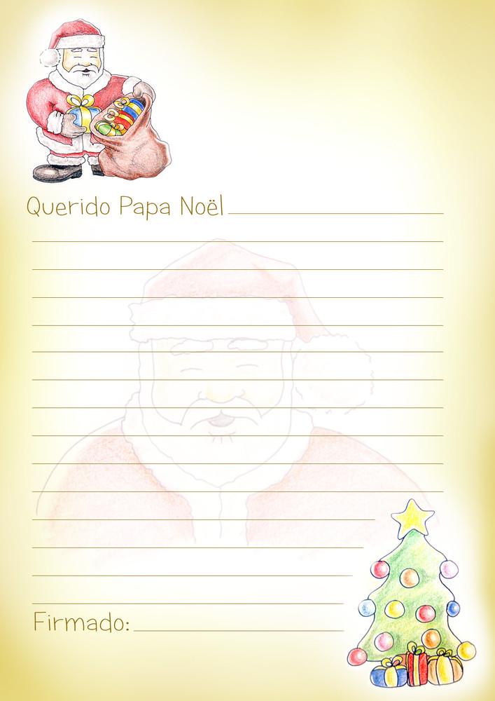 Carta a los Reyes Magos y a Papa Noel
