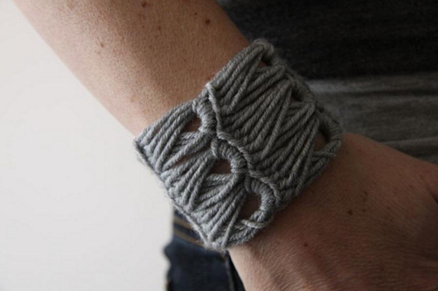 pulseras, brazaletes, crochet, tejer, labores, tutoriales