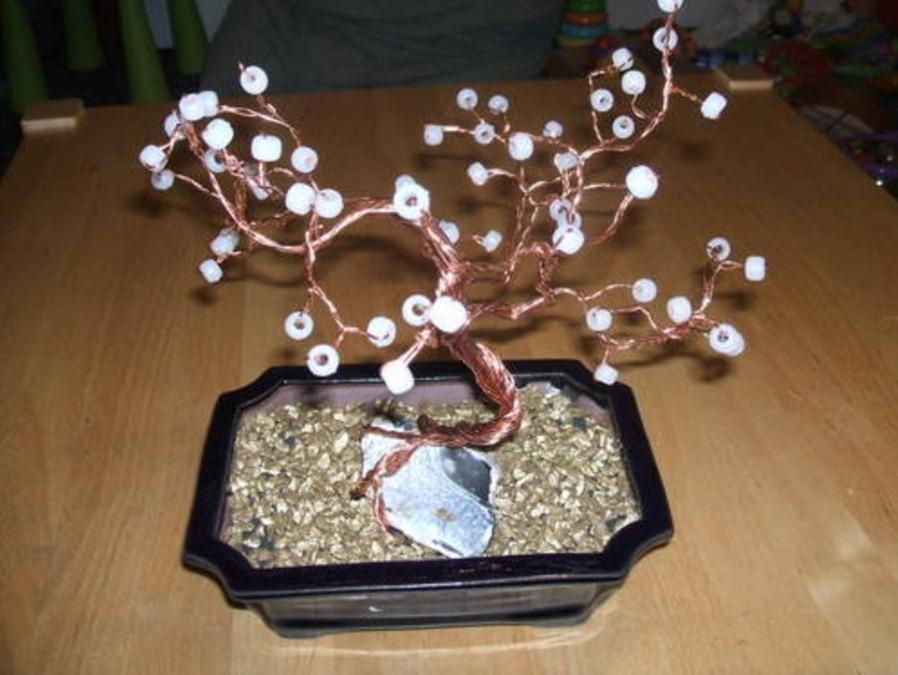 bonsais, alambre, felicidad, árbol de la suerte, manualidades, mágicas, feng shui