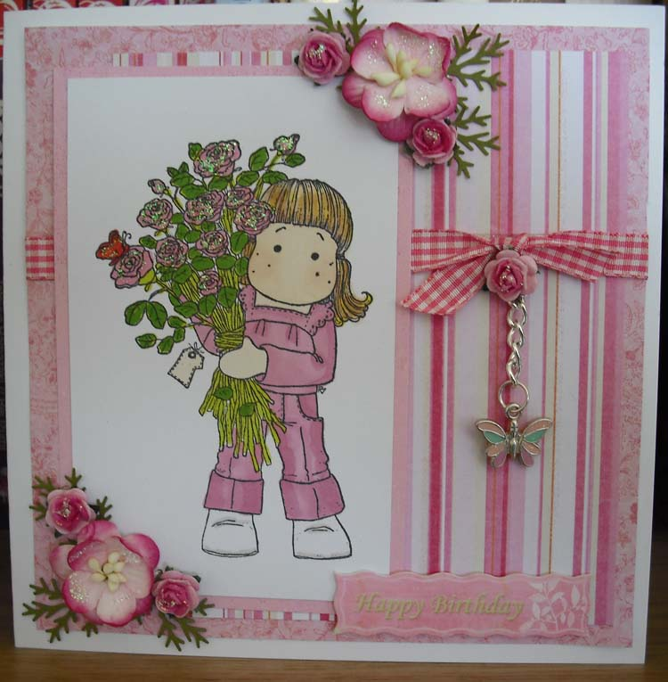a moment in time beautiful handmade cards  thanks