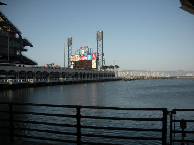 ATT Park in San Francisco - Baseball Stadium