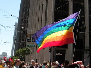 San Francisco Pride - Rainbow flag
