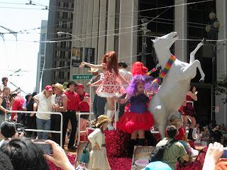 San Francisco Pride - floats