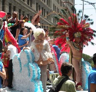 San Francisco Pride - Bank of America float