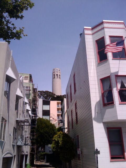 Barbary Coast Trail - North Beach Coit Tower