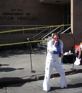 Elvis at Bay to Breakers in San Francisco