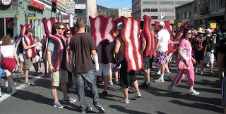 Bacon at Bay to Breakers in San Francisco