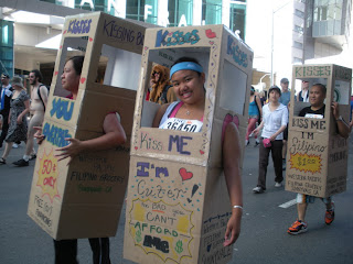 Kissing Booths at Bay to Breakers in San Francisco