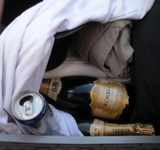 Champagne at Bay to Breakers in San Francisco
