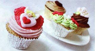 Cup Cakes Vanili