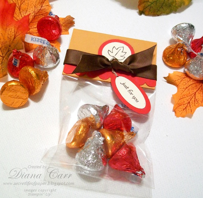 The Secret Life Of Paper: Fall Treat Bags