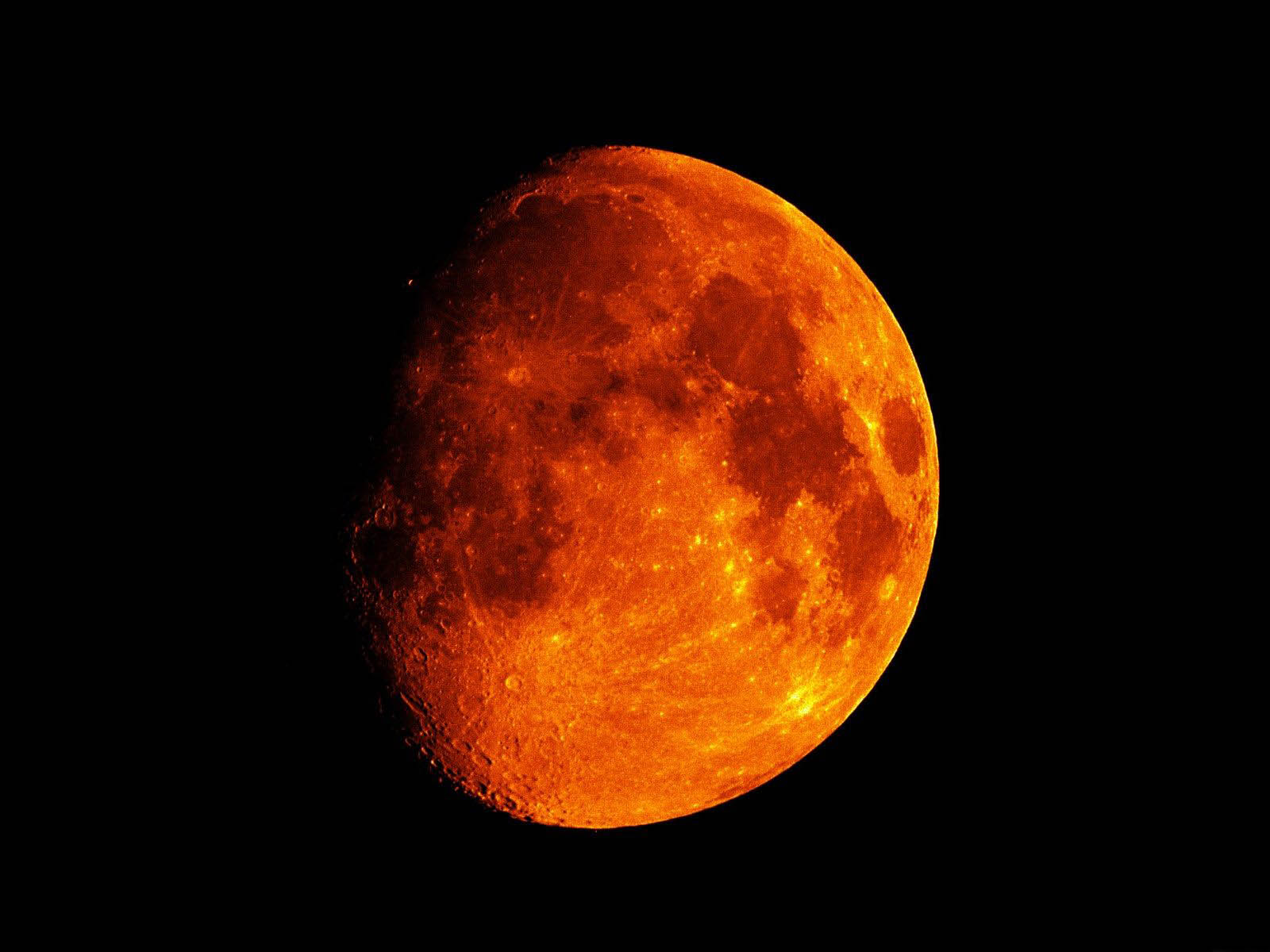 Free Download Red Moon Wallpaper