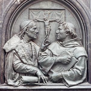 Resultado de imagem para Disputa entre Johannes Eck e Martinho Lutero