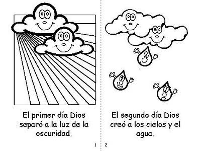 Imagenes De La Creacion Para Colorear Bíblica Quot El Comienzo De